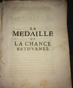 LA MÉDAILLE OU LA CHANCE RETOURNÉE. 1650.