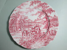 Zeitgenössische englische Keramiken Teller
