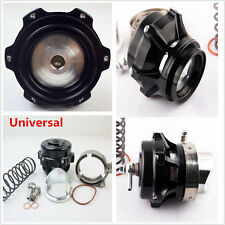 Universal Car Turbo Blow Off Valve BOV Vband Flange Spring 0.4-1.3 Bar Black Kit