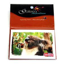 Fridge Magnet Australia Koala Eucalyptus Gum Leaf Photo Image Souvenir