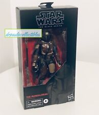 Star Wars Black Series The MANDALORIAN 6? Figure Brand New Factory Sealed