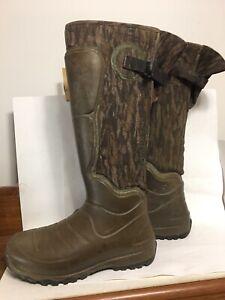 """Size 6 TALL AEROHEAD 18"""" MOSSY OAK BOTTOMLAND LaCrosse Hunting Boots"""
