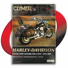 2000-2005 Harley Davidson Flstf/Flstfi Fat Boy Repair Manual Clymer M423-2