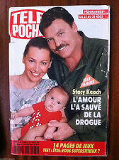 b)Télé Poche 17/08/1992 Stacy Keach et Mike Hammer/ kirk Douglas/ Marie Jo Pérec