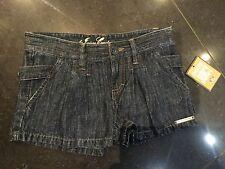 NWT JUICY COUTURE Nuevo & genuino niña Edad 8 Vaquero Pantalones cortos con Logo