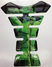 Green Female Sword Back Grim Reaper Original Resin Tank Pad