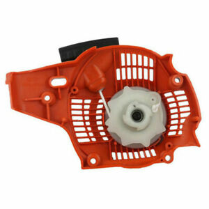 Recoil Rewind Pull Starter Fits For Husqvarna 235, 236, 240 Rep OEM 545 00 80 25