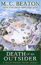 Death of an Outsider by M. C. Beaton (Paperback) Book, New