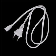 Câble européen de corde d'alimentation à CA du port 1m de l'UE 1M pour le câble