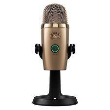 BLUE MICROPHONES Yeti Nano Premium USB Microphone  ( Cubano Gold - 0489)