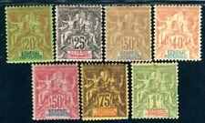 SENEGAL 1892 Yvert 14-20 meist * und schön (D8994