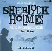 Sherlock Holmes - Silver Blaze Read by Derek Jacobi- Audio CD N/Paper