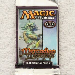 MTG: MERCADIAN MASQUES - Sealed Booster Pack from Box - Magic - English