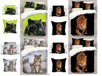 UK Made 3D Lions Photo Print Duvet Quilt Cover or Blanket or Cushion