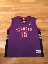 Vince Carter Toronto Raptors NBA Vintage Champion Jersey Men's Size XL (48)