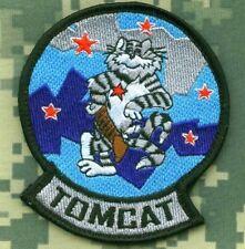 F-14 TOMCAT FIGHTER burdock TOP GUN SCHOOL RED TEAM F-14 TOMCAT INSIGNIA PATCH