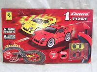 Carrera 63008 Ferrari Slot Car Racing Set Battery Operated For Kids Sealed New