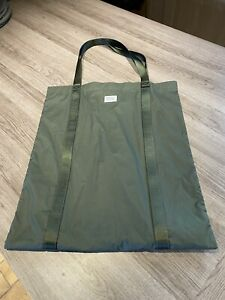 Norse Projects N95-0552 Olive Ripstop Tote Bag RRP £95