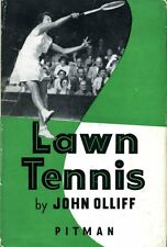 Lawn Tennis : The Technique of Lawn Tennis Stroke Play by John Olliff (hardback)