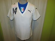 "Italien ""FIGC"" Nr.474 Puma Damen/Lady Matchworn Trikot 2006-2008 + Nr.14 Gr.L"
