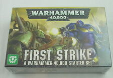 Wahammer 40K 40,000 FIRST STRIKE Starter Set Space/Plague Marines GAW40-04