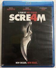 Scream 4 (Blu-ray Disc, 2011) Canadian