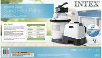 Intex 1200 GPH Krystal Clear Above Ground Pool Sand Filter Pump 26643EG FREE 📦