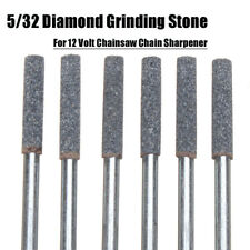 6pcs Grinding Stone Tools Drill Bits For 12V Chainsaw Chain Sharpener Quality
