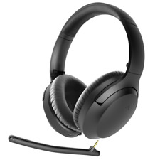 Avantree BTHSAS9PBLK Over the Ear Headphones - Black