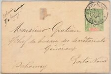 French Colonies: Dahomey -  POSTAL HISTORY - POSTAL STATIONERY COVER 1904
