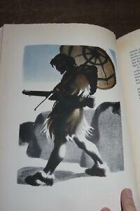 1940 DANIEL DEFOE - ROBINSON CRUSOE 27 COLOUR PLATES by SIKKER HANSEN DANISH