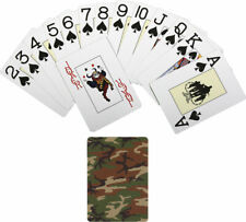 Woodland Camouflage Novelty Playing Cards Deck
