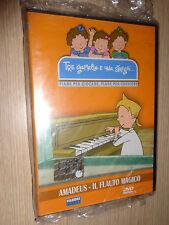 DVD TRE GEMELLE E UNA STREGA FIABE PER GIOCARE AMADEUS IL FLAUTO MAGICO