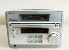 SONY CMT-RB5 MICRO HI-FI COMPONENT SYSTEM CD PLAYER AUX VERTICAL CD PRISM WINDOW