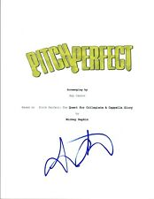 Skylar Astin Signed Autographed PITCH PERFECT Full Movie Script COA VD