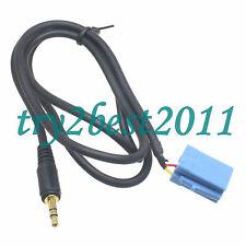 CT29BP02 Aux Input Adaptor Blaupunkt (Mini ISO Blue) 3.5mm Jack