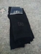 Pack of 5 GIORGIO Mens Classic Black Sock Size 7-11