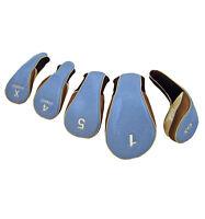 Calibre Set of 5 Easy-Off Headcovers (460cc #1, 3W, 5W, Hybrid 4 & X)