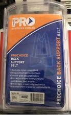 Prochoice Back Support Belt with Shoulder Straps Work Safety Body Brace - #A19