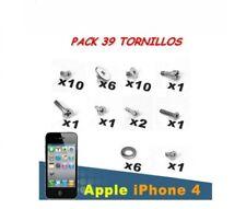 PACK JUEGO DE TORNILLOS IPHONE 4 KIT COMPLETO CON ARANDELAS CON DESTORNILLADORES