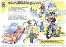 Conti, Werbe-Löschblatt für Schüler,  mit Verkehrsregeln von Ottokar, 1935