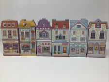 Lenox Village Flats Wood wooden stand up or Wall Decor 1997