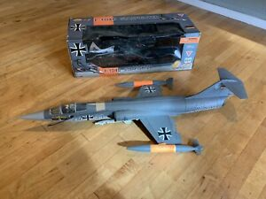 Ultimate Soldier Extreme Detail F-104G German Marine Starfighter Jet 1:18 w/ Box