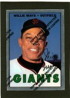 1996 Topps Chrome Willie Mays Commerative Card #21                      A542