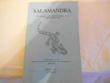 Zeitschrift: Salamandra. Band 39 / Heft 1 / 31. März 2003