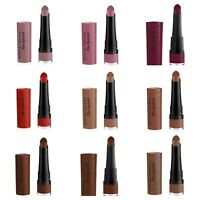 Bourjois Rouge Velvet The Lipstick 24-Hour Hold Flawless Rich Pigments Hydrating