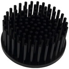 Mechatronix lpf70a30 LED-dissipatore di calore Ø 70 x 30 mm pin fin Heatsink NERO 856565