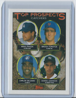 1993 Topps #701 - Mike Piazza / Carlos Delgado - Dodgers HOF Rookie Mint
