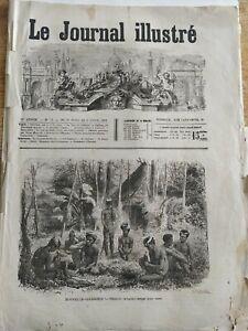 Le Journal Illustré N° 13 / 1873 Nouvelle-Calédonie / Espagne / Lord Gladstone