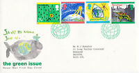 15 SEPTEMBER 1992 THE GREEN ISSUE ROYAL MAIL FIRST DAY COVER BUREAU SHS (g)
